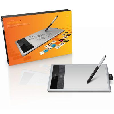 Графический планшет Wacom Bamboo Fun Pen & Touch Medium CTH-670S-RUPL