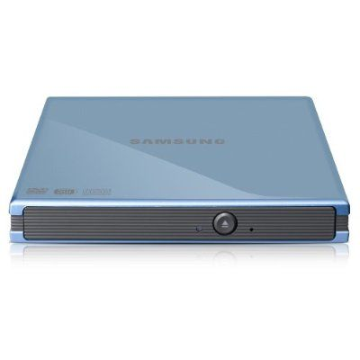 Samsung ������� ������ DVD-RW tray ext. USB2.0 Blue Slim Super Multi SE-S084C/TSKS