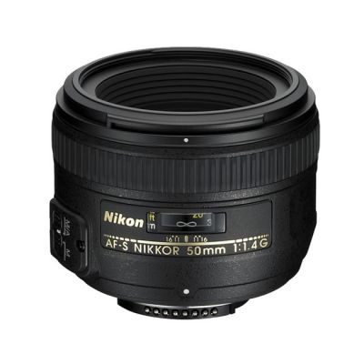 Объектив для фотоаппарата Nikon 50mm f/1.4G AF-S Nikkor Nikon F JAA014DA
