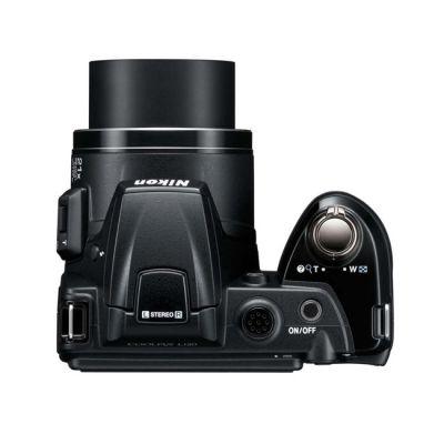 Зеркальный фотоаппарат Nikon coolpix L120 Black (ГТ Nikon)