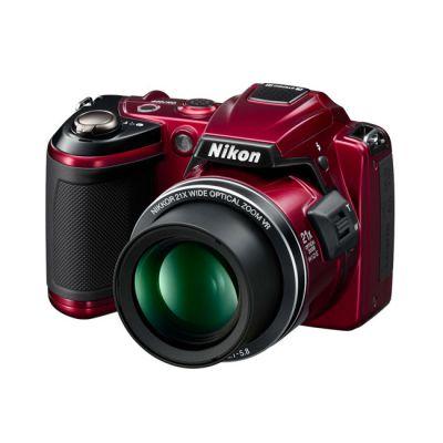 Зеркальный фотоаппарат Nikon coolpix L120 Red (ГТ Nikon)