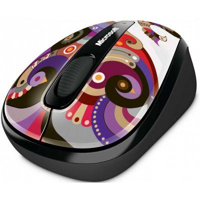 Мышь беспроводная Microsoft Mobile 3500 USB Artist Chamarelli GMF-00129