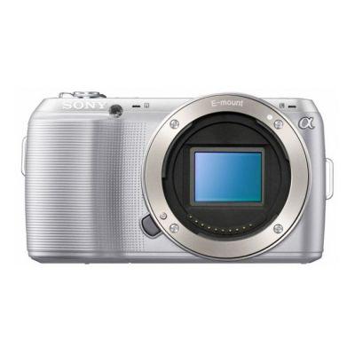Зеркальный фотоаппарат Sony Alpha NEX-C3D Kit 16 mm + 18-55 mm Silver (ГТ Sony)