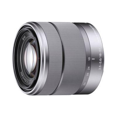 ���������� ����������� Sony Alpha NEX-5D Kit 16 mm + 18-55 mm Silver (�� Sony)