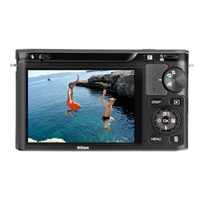 Зеркальный фотоаппарат Nikon 1 J1 Kit 10-30 мм f/3.5-5.6 vr Black (ГТ Nikon)