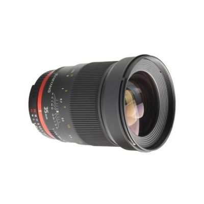 Объектив для фотоаппарата Samyang для Canon 35mm f/1.4 as umc Canon ef (ГТ Samyang)