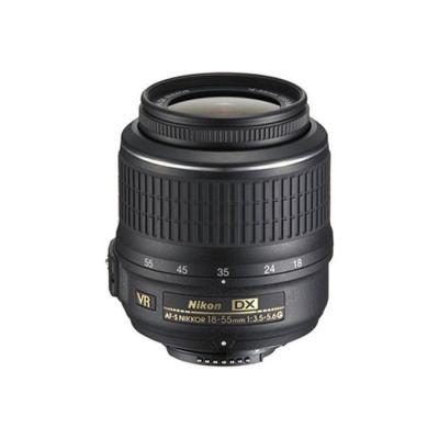 Объектив для фотоаппарата Nikon 18-55mm f/3.5-5.6G AF-S vr dx Zoom-Nikkor Nikon F (ГТ Nikon)