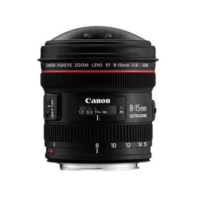 Объектив для фотоаппарата Canon ef 8-15mm f/4L Fisheye usm Canon ef [4427B005]