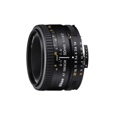 Объектив для фотоаппарата Nikon 50mm f/1.8D AF Nikkor Nikon F (ГТ Nikon)