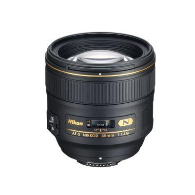 Объектив для фотоаппарата Nikon 85mm f/1.4G AF-S Nikkor Nikon F (ГТ Nikon)