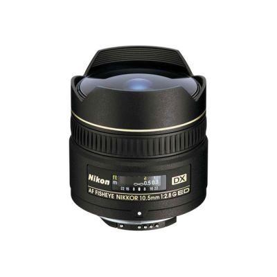Объектив для фотоаппарата Nikon 10.5mm f/2.8G ed dx Fisheye-Nikkor (ГТ Nikon)