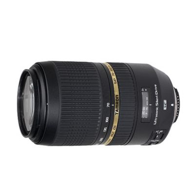 Объектив для фотоаппарата Tamron для Canon AF sp 70-300mm F/4-5.6 Di vc usd Canon <span style=&quot;color: red; font-weight: bold;&quot;>ef</s