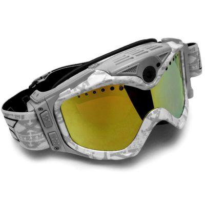 Liquid Image для активного вида спорта LIC337W Snow Goggle Summit Series Full HD1080P (White)