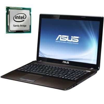 Ноутбук ASUS K53E 90N3CAD54W2C29RD13AY