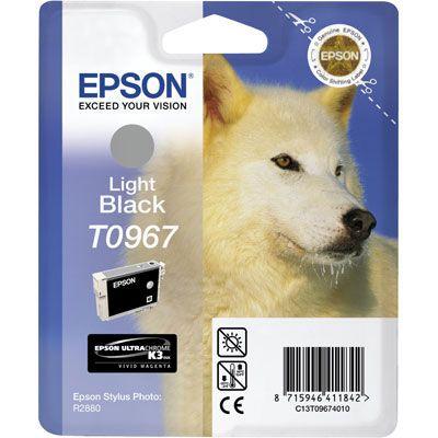 Картридж Epson R2880 Light Black/Светло-серый (C13T09674010)