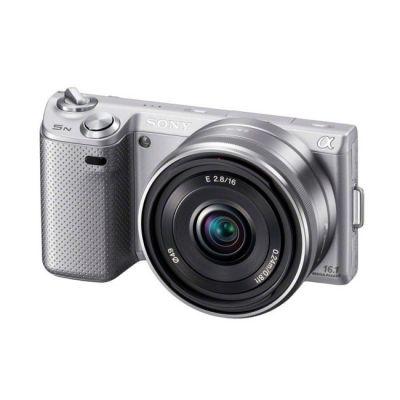 Зеркальный фотоаппарат Sony Alpha NEX-5K Kit 18-55 mm Silver (ГТ Sony)