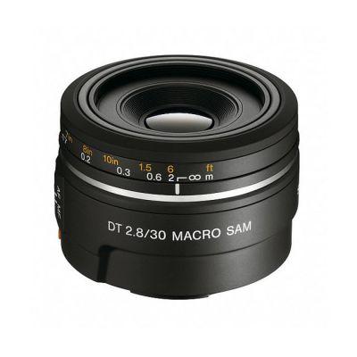Объектив для фотоаппарата Sony 30 mm f/2.8 DT Macro sam (ГТ Sony) SAL-30M28