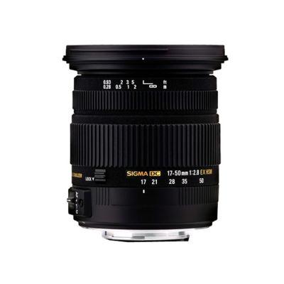 Объектив для фотоаппарата Sigma для Nikon AF 17-50mm f/2.8 ex DC os hsm Nikon-F (ГТ Sigma)