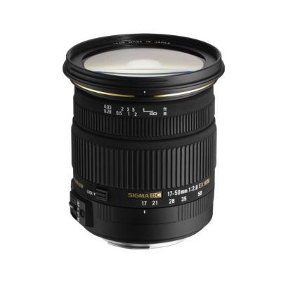 Объектив для фотоаппарата Sigma для Sony AF 17-50mm f/2.8 ex DC os hsm Minolta A (ГТ Sigma)
