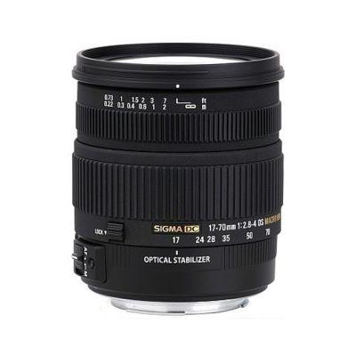 Объектив для фотоаппарата Sigma для Nikon AF 17-70mm f/2.8-4 DC Macro os hsm Nikon-F (ГТ Sigma)