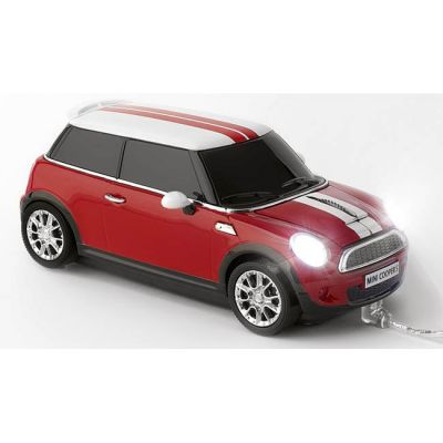 Мышь проводная Click Car mini Cooper S Chilli Red CCM660226