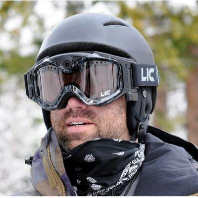 Liquid Image ��� ��������� ���� ������ LIC337BLK Snow Goggle Summit Series Full HD1080P (Black)