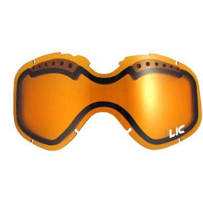 Liquid Image Линза LIC631 Snow Goggle Lens L/XL Size (Amber)