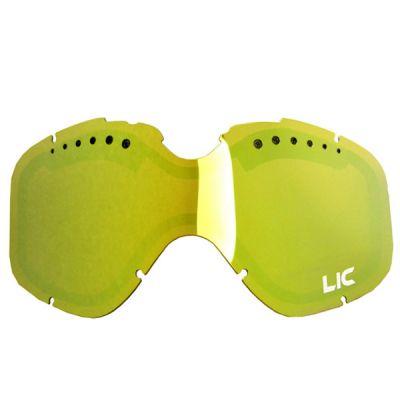 Liquid Image Линза LIC635 Snow Goggle Lens L/XL Size (Gold Ionized)