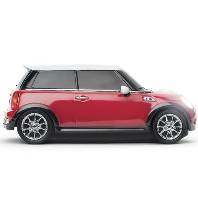 Мышь беспроводная Click Car Mini Cooper S Chili Red CCM660127