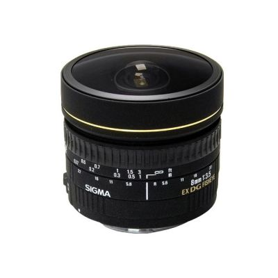 Объектив для фотоаппарата Sigma для Canon AF 8mm f/3.5 ex dg fisheye circular Canon ef (ГТ Sigma)