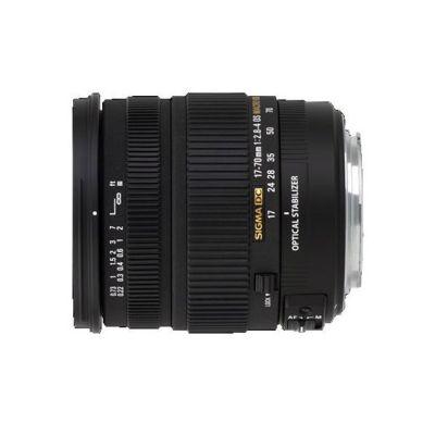 Объектив для фотоаппарата Sigma для Canon AF 17-70mm f/2.8-4 DC Macro os hsm Canon EF-S (ГТ Sigma)
