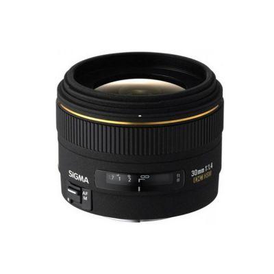 Объектив для фотоаппарата Sigma для Canon AF 30mm f/1.4 ex DC hsm Canon EF-S (ГТ Sigma)