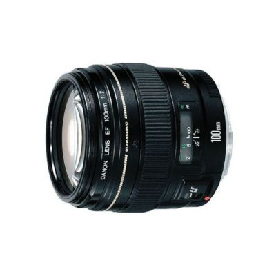 Объектив для фотоаппарата Canon ef 100 f/2 usm Canon ef (ГТ Canon) [2518A012]