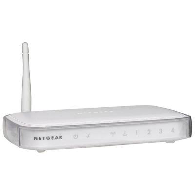 Wi-Fi роутер Netgear 802.11g (4 LAN-порта) WGR614