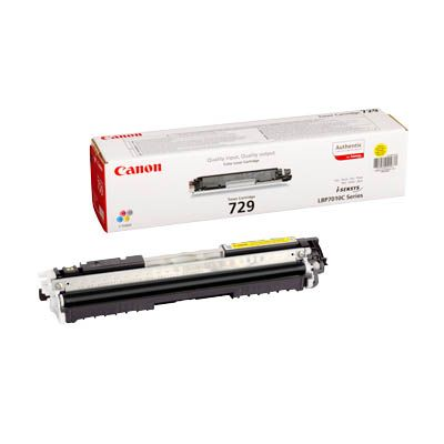 ��������� �������� Canon clbp cartridge 729 Y eur Yellow (������) 4367B002