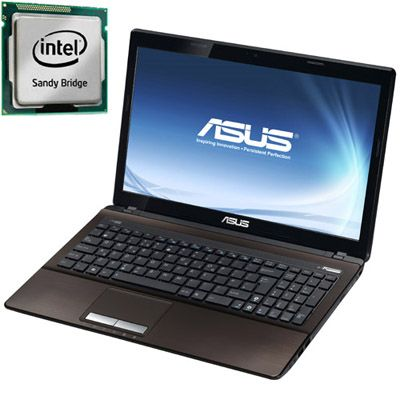 Ноутбук ASUS K53SV (X53SV) 90N3GY184W2A13RD13AY