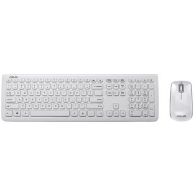 Комплект ASUS W3000 Клавиатура + Мышь White 90-XB2400KM00160-