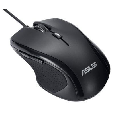 Мышь проводная ASUS UX300 Optical USB Black 90-XB2P00MU00000-