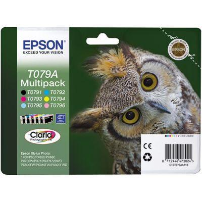 Картридж Epson набор 6 шт. (C13T079A4A10)