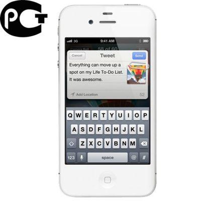 Смартфон Apple iPhone 4S 32Gb White MD245RR/A