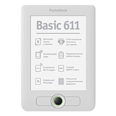 ����������� ����� PocketBook Basic 611 White (E60632)