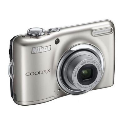 Зеркальный фотоаппарат Nikon coolpix L23 Silver (ГТ Nikon)