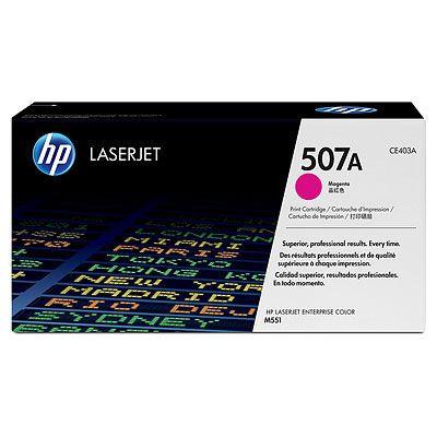 Тонер-картридж HP 507A Magenta/Пурпурный (CE403A)