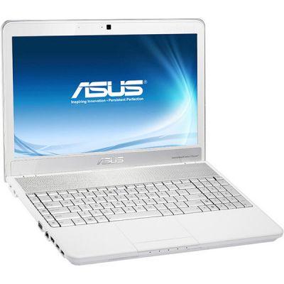 Ноутбук ASUS N55SF White 90N5FC2B8W5D39VD13AU