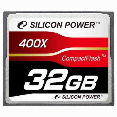 ����� ������ Silicon Power 32GB 400X Professional Compact Flash Card