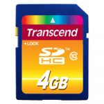 ����� ������ Transcend 4GB sdhc Class 10 TS4GSDHC10