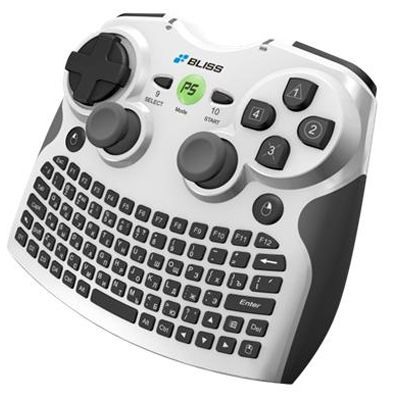 Клавиатура Bliss AK08b Air Keyboard Conqueror 3-in-1 + 3D мышь + джойстик GBL080BR3-WCD