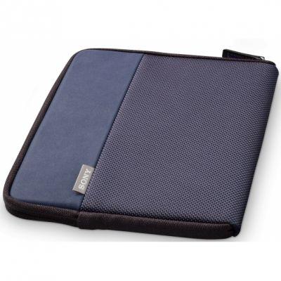 Чехол Sony из ткани для электронной книги PRS-T1 (Blue) PRSA-CP65/L