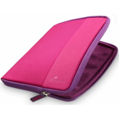Чехол Sony из ткани для электронной книги PRS-T1 (Pink) PRSA-CP65/P