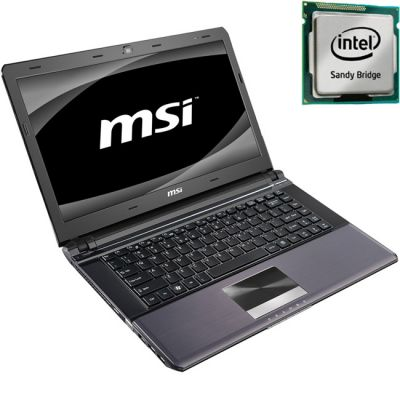 Ноутбук MSI X-Slim X460DX-280 Black